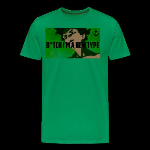 Bish I m a newtype - Men's Premium T-Shirt