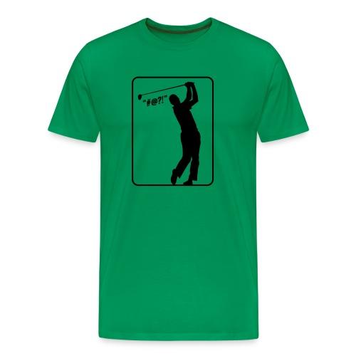 Golf Shot #@?! - Men's Premium T-Shirt
