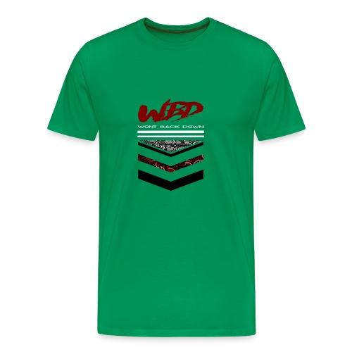 WontBackDown - Men's Premium T-Shirt
