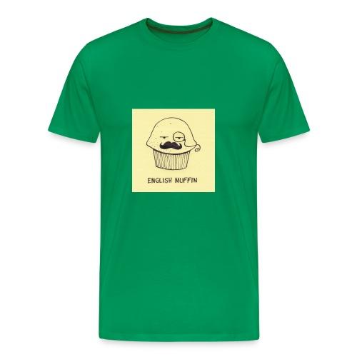 english muffin merch - Men's Premium T-Shirt