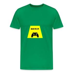 beam me up 1 - Men's Premium T-Shirt
