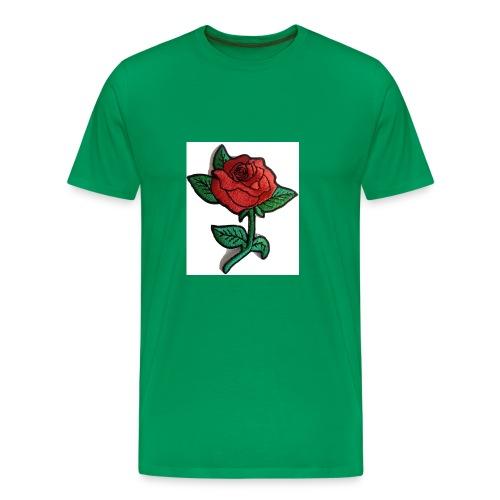 t-shirt roses clothing🌷 - Men's Premium T-Shirt