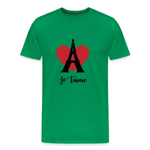 Je'taime Paris - Men's Premium T-Shirt