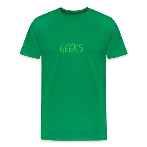 Geeks Merch - Men's Premium T-Shirt