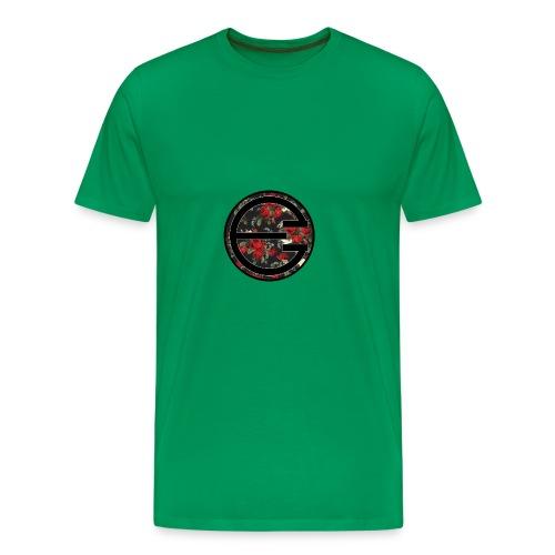 EYELESS 2D FLORAL CIRCLE PHONE CASE. - Men's Premium T-Shirt