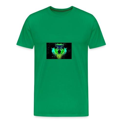 Neon Wolf - Men's Premium T-Shirt