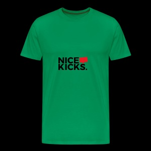 nice kicks by kingmike - Men's Premium T-Shirt