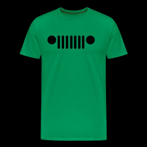 Jeep Grille - Men's Premium T-Shirt