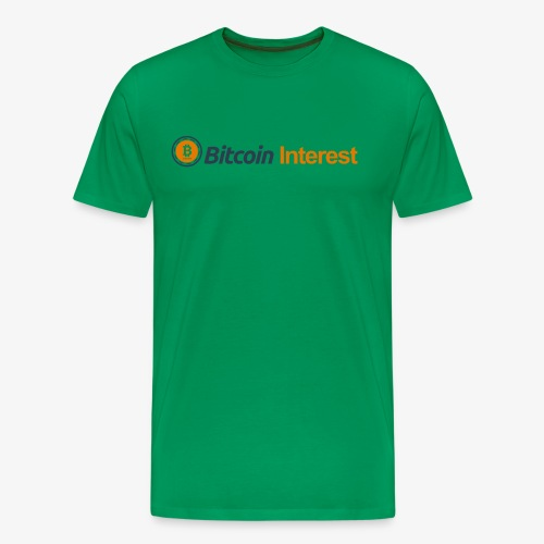 BitcoinInterest - Men's Premium T-Shirt