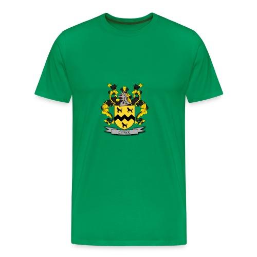Carrick Family Crest - Men's Premium T-Shirt