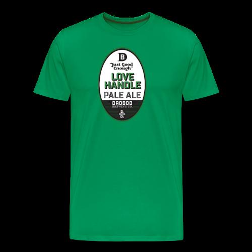 LOVE HANDLE Pale Ale - Dadbod Brewing Co. - Men's Premium T-Shirt