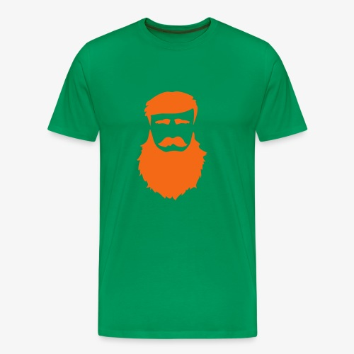 PoM Logo Horizontal V2 REVERSE - Men's Premium T-Shirt