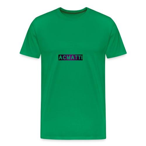 Simple ACMATTI - Men's Premium T-Shirt
