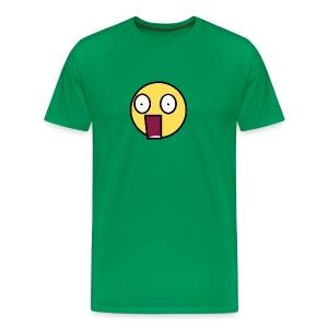 Surprised huge shock - Men's Premium T-Shirt