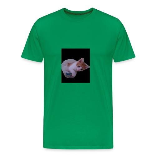 kitten explorer - Men's Premium T-Shirt