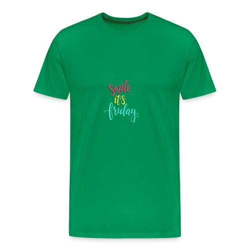 Smile its Friday - Men's Premium T-Shirt