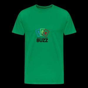 TCG Buzz Logo - Black - Men's Premium T-Shirt