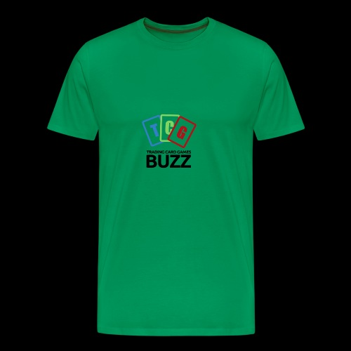 TCG Buzz Logo - Black - Men's Premium T-Shirt