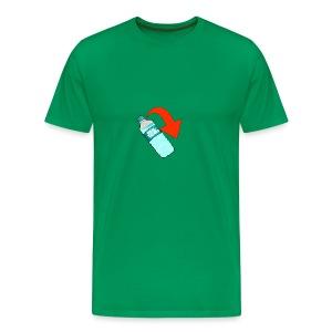 WaterBottle Flip - Men's Premium T-Shirt