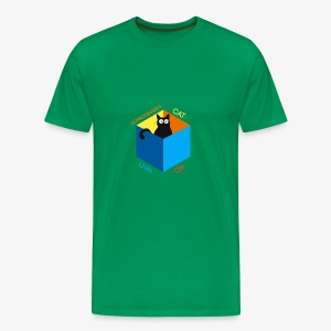 Schrodinger's Cat Lives - Men's Premium T-Shirt