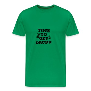 Time To Get Drunk! - Men's Premium T-Shirt