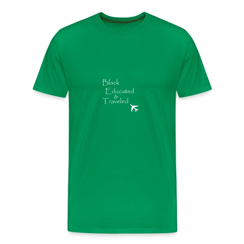 BET: Black Educated and Traveled - Men's Premium T-Shirt