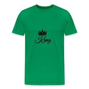 King Tshirt - Men's Premium T-Shirt