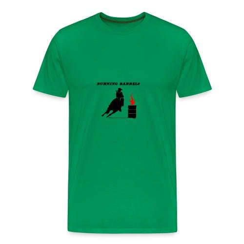 barrel racing horse - Men's Premium T-Shirt