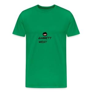 Garrett West With Face - Men's Premium T-Shirt