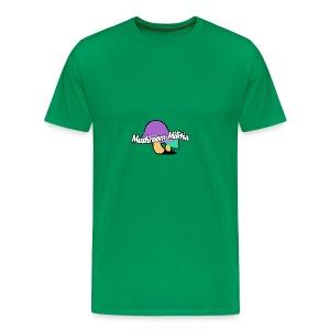 MM text logo - Men's Premium T-Shirt