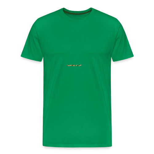Wallz Name Design - Men's Premium T-Shirt