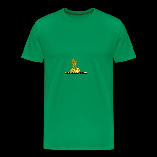 Limited Edition Gold Micah Show Logo - Men's Premium T-Shirt