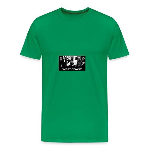 West Coast Rappers Design - Men's Premium T-Shirt