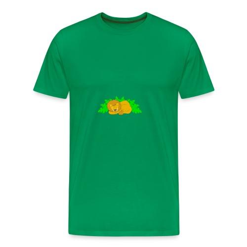 Sleeping Lion - Men's Premium T-Shirt