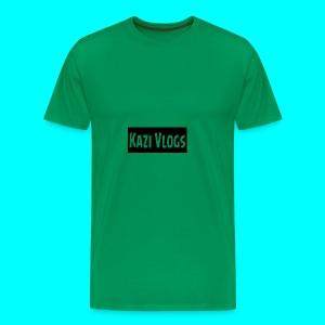 Kazi Vlogs - Men's Premium T-Shirt