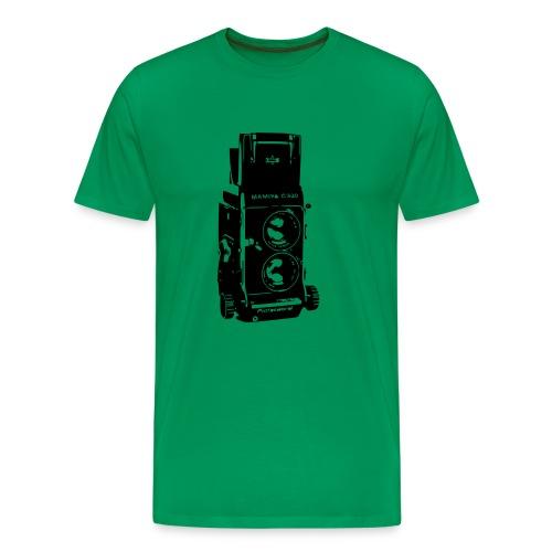 Mamiya C330 Twin Lens Reflex - Men's Premium T-Shirt