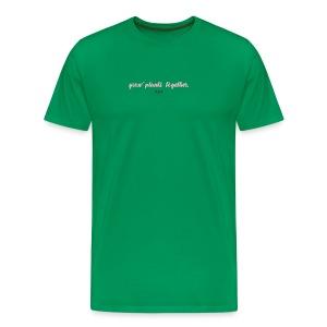 GROW PLANTS TOGETHER by LIVALTO - Men's Premium T-Shirt