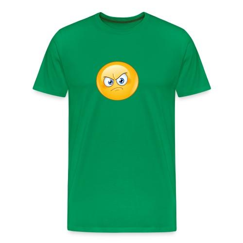 annoyed emoticon - Men's Premium T-Shirt