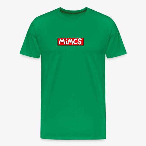 Mimics box logo - Men's Premium T-Shirt