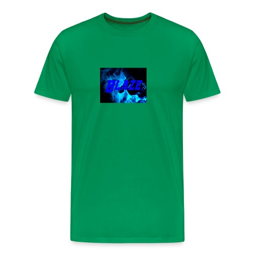 Blue Fire - Men's Premium T-Shirt