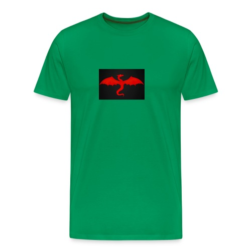 Sparkey the dragon - Men's Premium T-Shirt