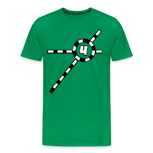 Green Exceler 4 - Men's Premium T-Shirt