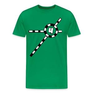 Green Exceler 4 - Men's Premium T-Shirt