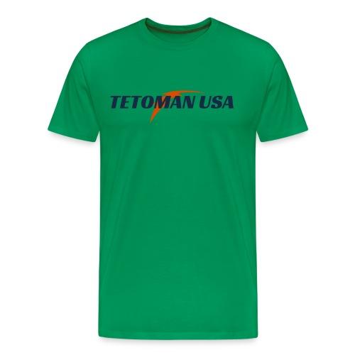 Tetoman USA! No Exceptions!!! - Men's Premium T-Shirt