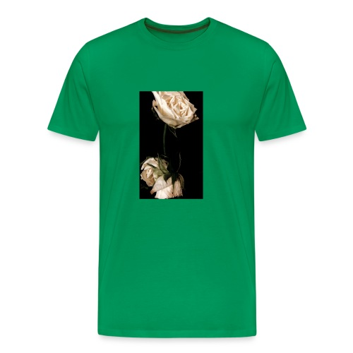 WhiteRoses in Darkness - Men's Premium T-Shirt