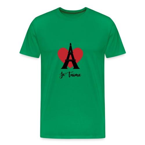 Je'taime Paris - Men's Premium T-Shirt