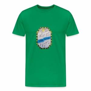 2ième poste Squamish de Hull - T-shirt premium pour hommes