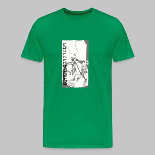 oskull pedalrat designed by goolzvodtiques - Men's Premium T-Shirt