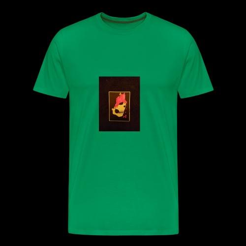 Dripping Skull - Men's Premium T-Shirt