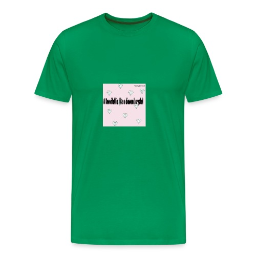Diamond crystal Custom Design - Men's Premium T-Shirt
